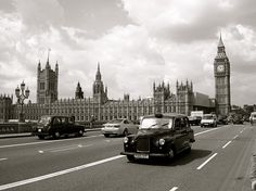 Go back to London with my Sister. And take a duplicate picture in just about this spot :)