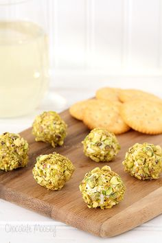 Goat Cheese, Bacon, and Pistachio Truffles #SundaySupper