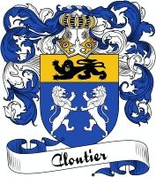 Cloutier Coat of Arms  Cloutier Family Crest   VIEW OUR FRENCH COAT OF ARMS / FRENCH FAMILY CREST PRODUCTS HERE