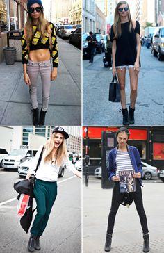 Street Style Cara Delevingne | Collage Vintage