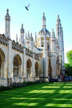 King's College, Cambridge University, UK GettyImages || Flickriver || England