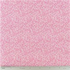 """White Floral on Pink Fabric is 44"""" - 45"""" wide and 100% cotton.    CARE INSTRUCTIONS - Machine Wash, Warm; Tumble Dry; Remove Promptly.    Available in 1-yard increments. Average bolt size is approximately 15 yards. Price displayed is for 1-yard. Enter the total number of yards you want to order."""