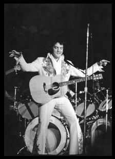 May 03, 1977 Elvis performed at the Saginaw Center, Saginaw, Michigan and after this show Elvis flew home to Memphis.
