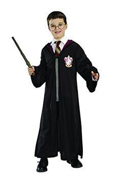 Wizard School Boy Fancy Dress Costume 3 Pc Set Livre Semaine Baguette cravate lunettes