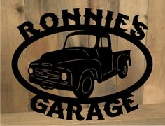 Metal Cut Out Custom Personalized Classic Truck by MetalDesignWorx, $99.00