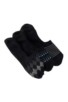 Fancy Liner Socks - Pack of 3