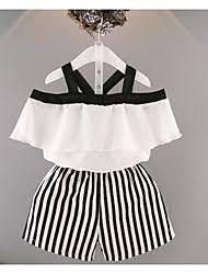 Resultado de imagen para modelos de blusas para niñas de 2 años Baby Outfits, Little Girl Dresses, Kids Outfits, Girls Dresses, Baby Girl Fashion, Kids Fashion, Fashion Outfits, Lace Trim Shorts, Stripe Shorts