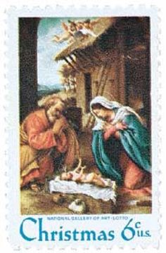 1970 6c Christmas, Nativity