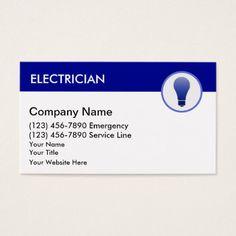 Electricianelectrical contractorgolden paper business card electrician business cards colourmoves