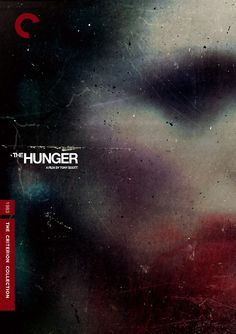 Poster: The Hunger a film by Tony Scott. Graphic design by Midnight Marauder. Graphic Design Calendar, Modern Graphic Design, Graphic Design Posters, Graphic Design Inspiration, Typography Design, Gfx Design, Design Art, Midnight Marauders, Design Bauhaus