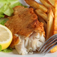 Crispy deep fried fish, serve with fries and tartar sauce this meal is such a treat.. Deep Fried Fish  Recipe from Grandmothers Kitchen.