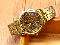 $18.90 (Buy here: https://alitems.com/g/1e8d114494ebda23ff8b16525dc3e8/?i=5&ulp=https%3A%2F%2Fwww.aliexpress.com%2Fitem%2FMens-Watches-Top-Brand-Luxury-Automatic-Mechanical-Skeleton-Watch-Clock-2016-New-Series-Hollow-Full-Golden%2F32709969463.html ) Mens Watches Top Brand Luxury Automatic Mechanical Skeleton Watch Clock  2016 New Series Hollow Full Golden Skeleton for just $18.90