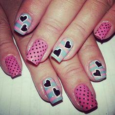 lolypop - http://yournailart.com/lolypop/ - #nails #nail_art #nail_design #nail_polish