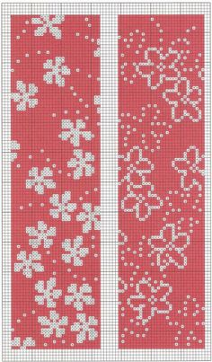 New Crochet Bookmark Chart Cross Stitch Ideas Cross Stitch Bookmarks, Crochet Bookmarks, Cross Stitch Borders, Cross Stitch Flowers, Cross Stitching, Cross Stitch Embroidery, Knitting Charts, Knitting Stitches, Knitting Patterns