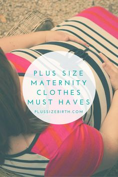 Searching for cute plus size maternity clothes? I have a list of plus size maternity clothes must haves that I can't wait to share with you!