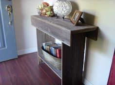 Entry Table Reclaimed Wood. Console Table with by TRUECONNECTION, $175.00