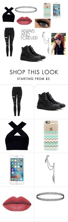 """""""Untitled #66"""" by pandacrew on Polyvore featuring interior, interiors, interior design, home, home decor, interior decorating, Topshop, Converse, Motel and Casetify"""