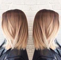 Hairs brown white