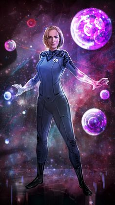 Emily Blunt as Sue Storm fan artwork. Thanks for all the feedback everyone! Marvel Comic Universe, Marvel Comics Art, Comics Universe, Marvel Fan, Marvel Cinematic Universe, Marvel Avengers, Marvel Women, Marvel Girls, Comics Girls