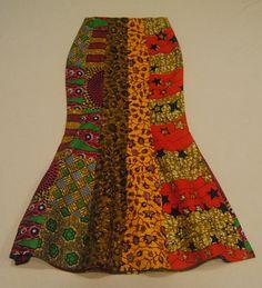 Nash African Print / Ankara Long Patchwork Skirt by Nopoku on Etsy African Print Skirt, African Print Dresses, African Print Fashion, Africa Fashion, Short African Dresses, Latest African Fashion Dresses, African Clothes, African Traditional Dresses, African Attire