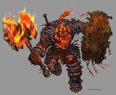 Fire Giant Commando by orangus on DeviantArt