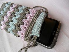 nice crocheted phone case