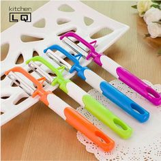 C$ 0.92 Cheap gadget calculator, Buy Quality gadget stick directly from China kitchen lamp Suppliers:                  Free Shipping new design candy color large fruit peeler stainless steel blade cucumber potatoes c