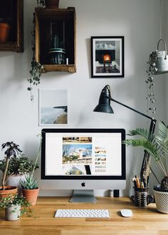 Add plants to your workspace to increase creativity and motivation.