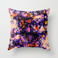 Throw Pillows by Amy Sia | Society6