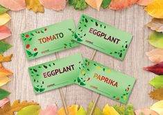 Excited to share the latest addition to my #etsy shop: garden plant, seedling stakes packet-instant download- tomato, paprika, eggplant http://etsy.me/2BNF9b4 #plantsandedibles #plant #green #plantmarkers #download #seedlingmarker #paprika #aeggplant #tomato