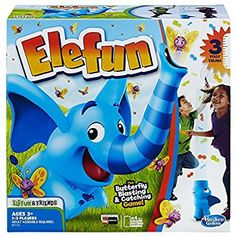 86874ed9d890 Amazon.com: Hasbro Elefun & Friends Elefun Game with Butterflies &  Music