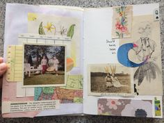 Dans mon crâne: Cut and Paste and Scrap Collage || Things Left Unsaid