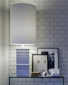 Lee Broom Tile Lamp White | Artilleriet | Inredning Göteborg Lee Broom, Bathroom Lighting, Mirror, Inspiration, Furniture, Home Decor, Products, Bathroom Light Fittings, Biblical Inspiration