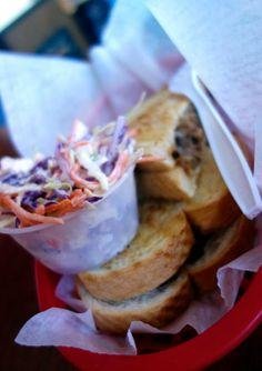 Kalua pork sandwiches at 808 Deli across from the beach in Kihei, Maui.