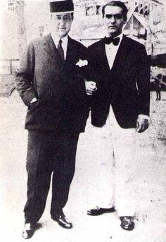 José Manuel Pérez Serrabona y Federico García Lorca.Articulo sobre su muerte