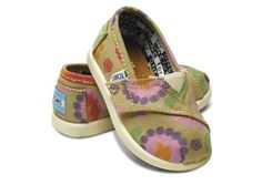Looks like this baby is going to have some Toms