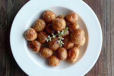 Pommes de terre bonnottes de Noirmoutier sautées à la fleur de thym - aime & mange