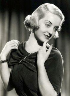 Bette Davis, Warner Bros Star 1936 by Movie-Fan, via Flickr