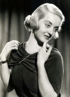 Bette Davis, Warner Bros Star 1936 by Movie-Fan, via Flickr
