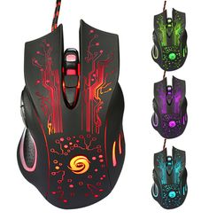 3200DPI LED Optical 6D USB Wired Gaming Game Mouse Pro Gamer Computer Mice For PC High Quality
