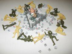 Oyuncak askerler-Tavla zarları-Biblo Melek..Savaş---Tin soldiers-Backgammon dices- Knicknack angel..War---BURSA