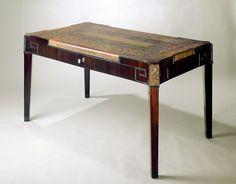 Marcel Coard - Rosewood and Snakeskin Desk, 1920s