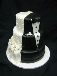 Creative wedding cake.  Visit us at www.ramadatropics.com to learn more about our facility in Des Moines.