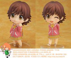 Nendoroid Mio Honda from THE IDOLM@STER CINDERELLA GIRLS   #nendoroid #rinkya #japan #anime
