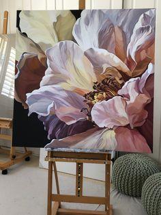 Floral Artwork, Watercolor Artwork, Diy Canvas Art, Botanical Art, Flower Art, Art Drawings, Ideas, Crafts, Watercolor Painting Techniques