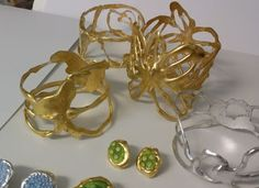 BANGLES MADE FROM HOT GLUE!