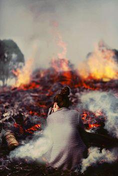 Watching Our Time Burn Away--Kiara Rose