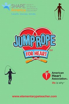 Physed Jump Rope For Heart (JRFH) Activities!