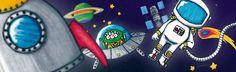 opération dans l'espace, boîte d'anniversaire #Tatitata #kids #birthday