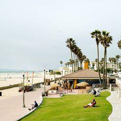 Fun weekend in Huntington Beach, California - Sunset